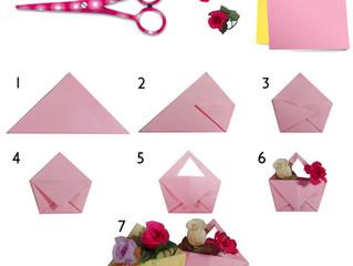 Cartera en Origami