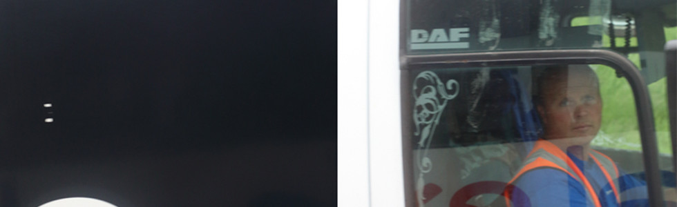 digital prints mounted on Dibond, framed diptych; each panel 100 x 66 cm