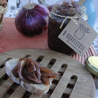 Pasta de Cebola Roxa Caramelizada e Patê de Pimentão Defumado por O Convescote