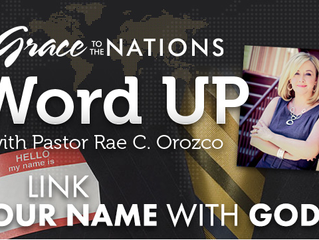 LINK YOUR NAME WITH GOD'S