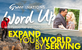 EXPAND YOUR WORLD BY SERVING