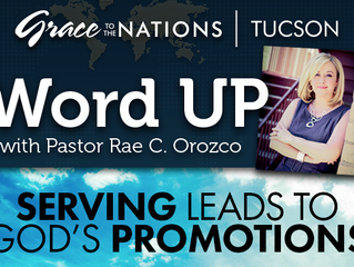 SERVING LEADS TO GOD'S PROMOTIONS