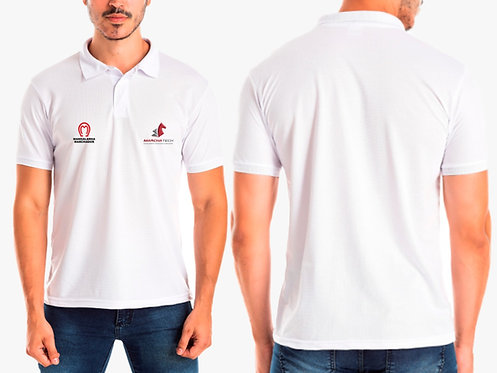 Camisa Polo Branca Marchatech