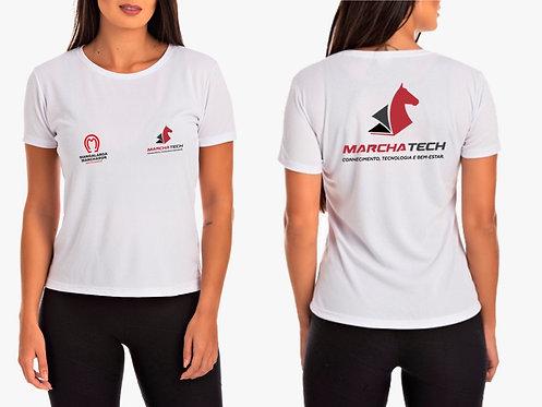 Camisa Feminina Branca Marchatech