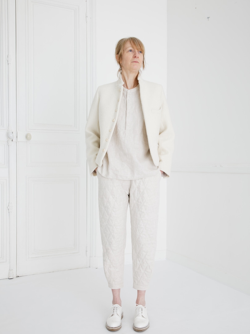 Jacket : JANE Ivory Shirt : SCOTT Ivory Pants : PHILIP Ivory