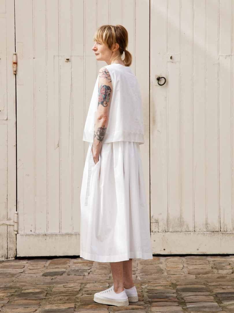 Dress :DANIELLE White