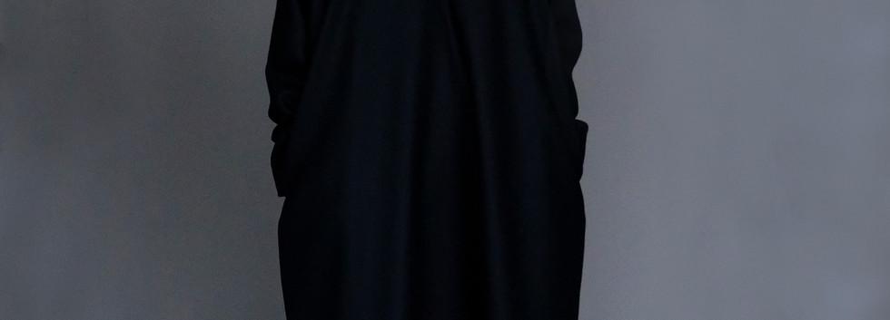 Dress : DANA  Shirt : STEPHANE Ivory&black Pants : PHILIP