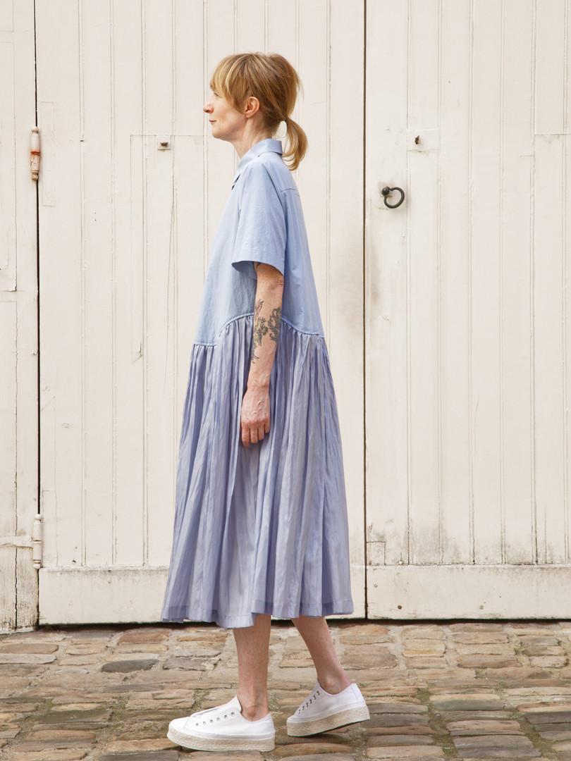 Dress : DAPHNE Light blue