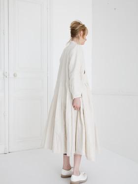Dress : CLARA Ivory Dress : LUCIE Ivory Shirt : SCOTT Linen Ivory