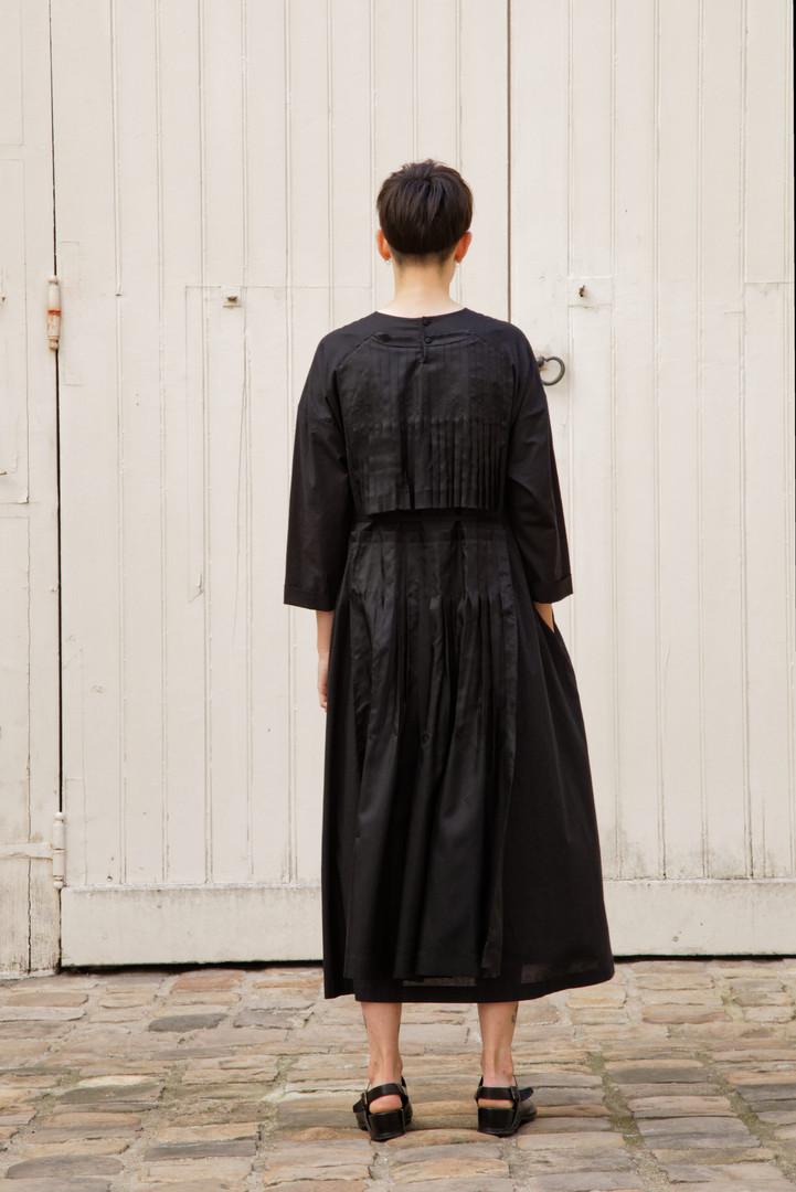 Dress AGNES Black / Black