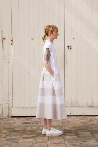 Dress : DAISY White / Beige
