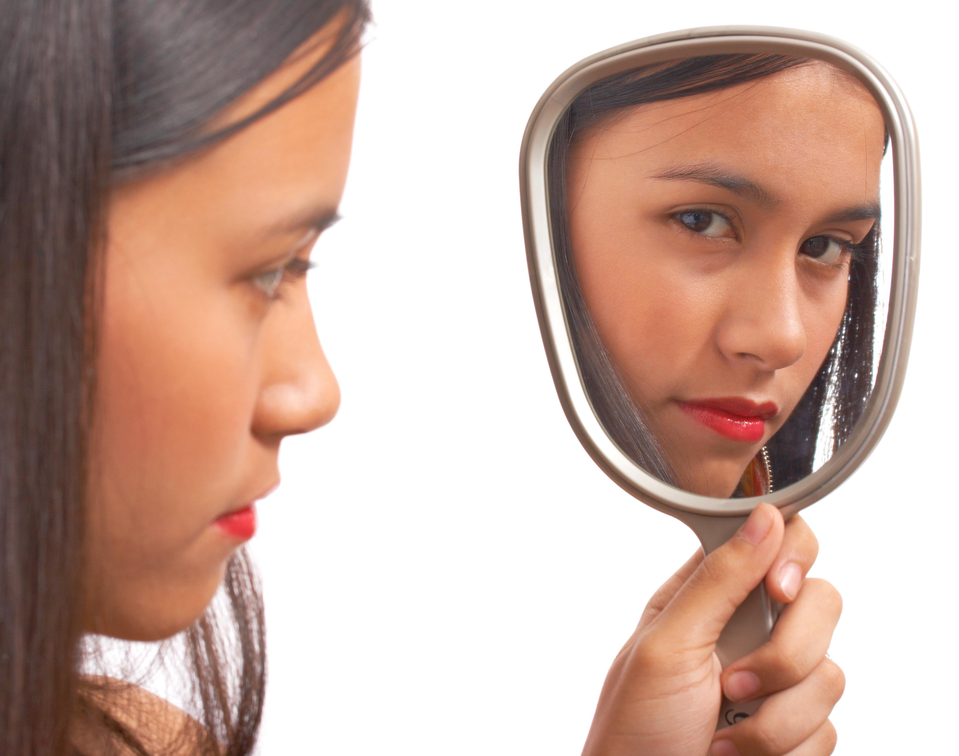 методика смотри в зеркало раздели нас, завязали