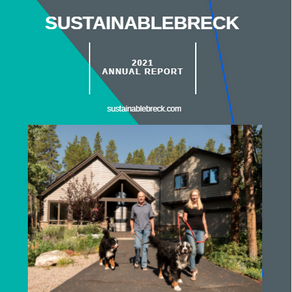 2021 SustainableBreck Annual Report Released