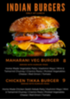 Purple Burger Photo Meal Planner Menu (3