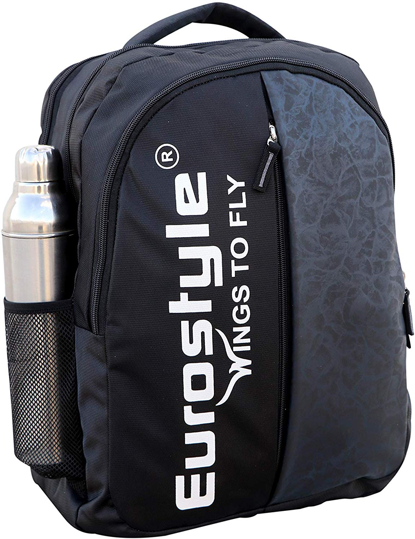Black & Dark Grey Backpack