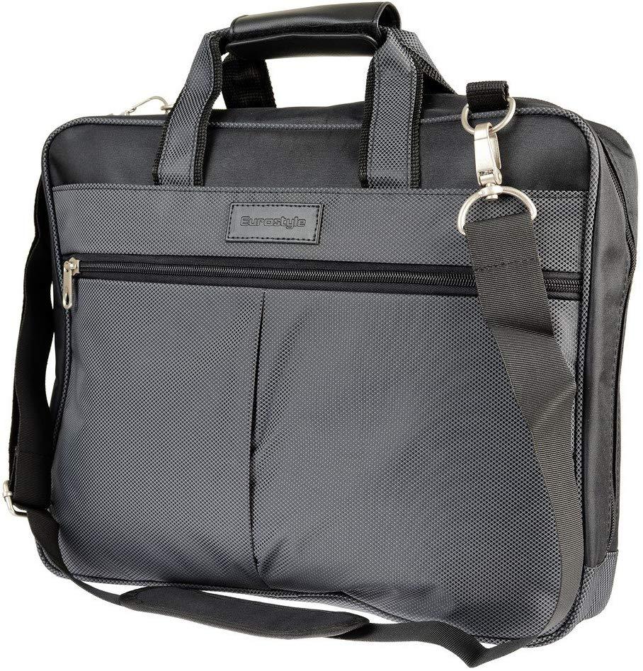 Grey Laptop Satchel