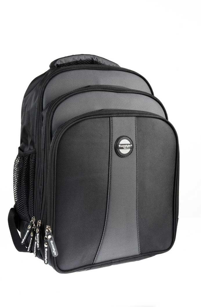 Black & Grey Laptop Backpack