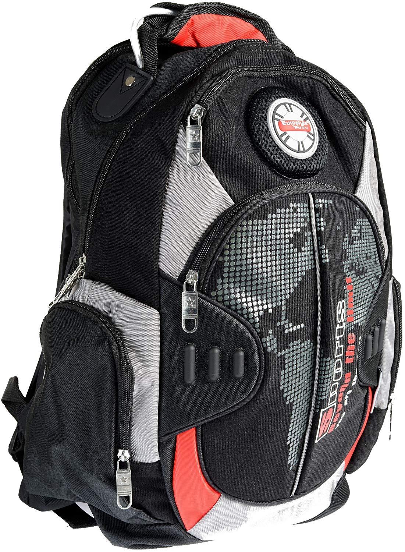 Black & Red Backpack