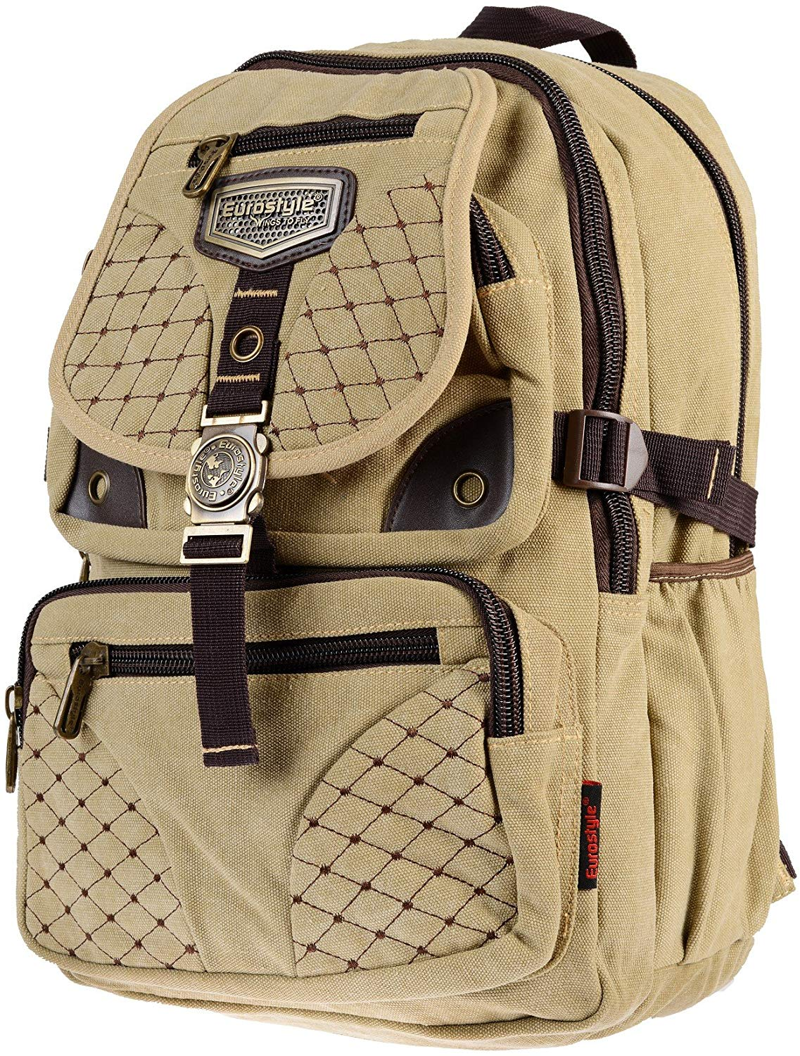 Light Canvas Backpack