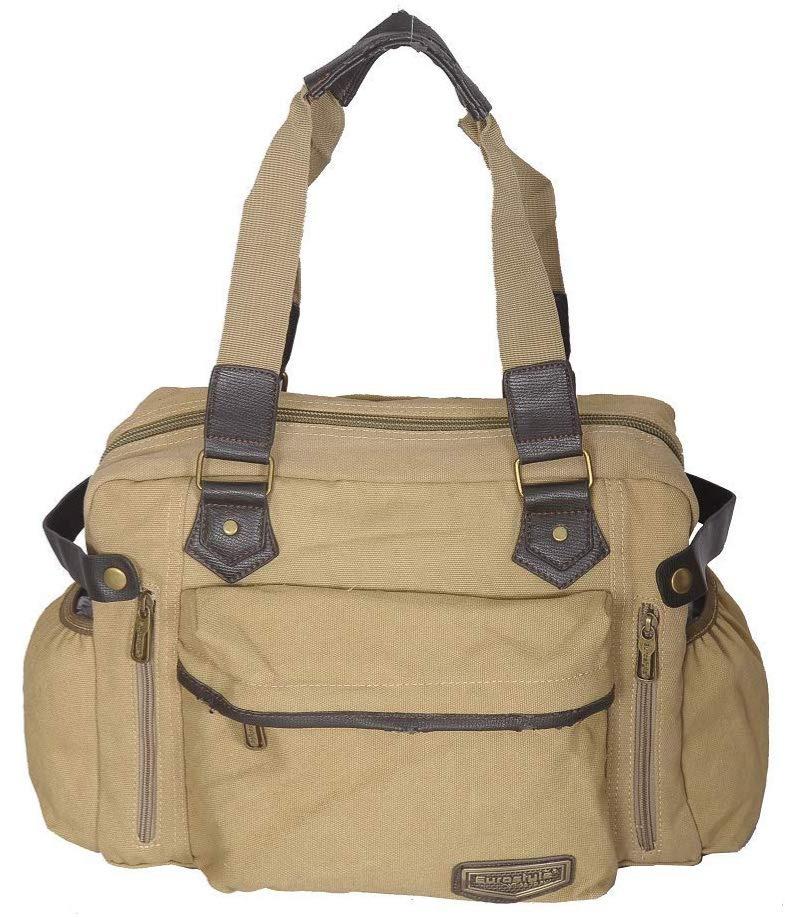 Light Canvas Handbag / Sling Bag