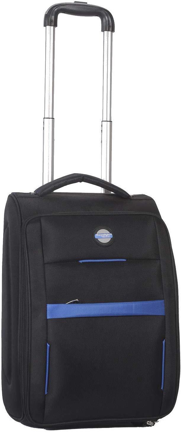 "Black Trolley Travel Bag (18"")"