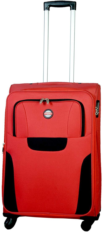 "Red & Black Trolley Bag (24"")"