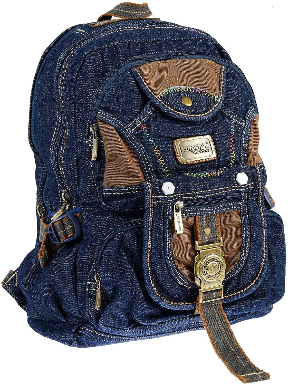 Dark Denim Backpack