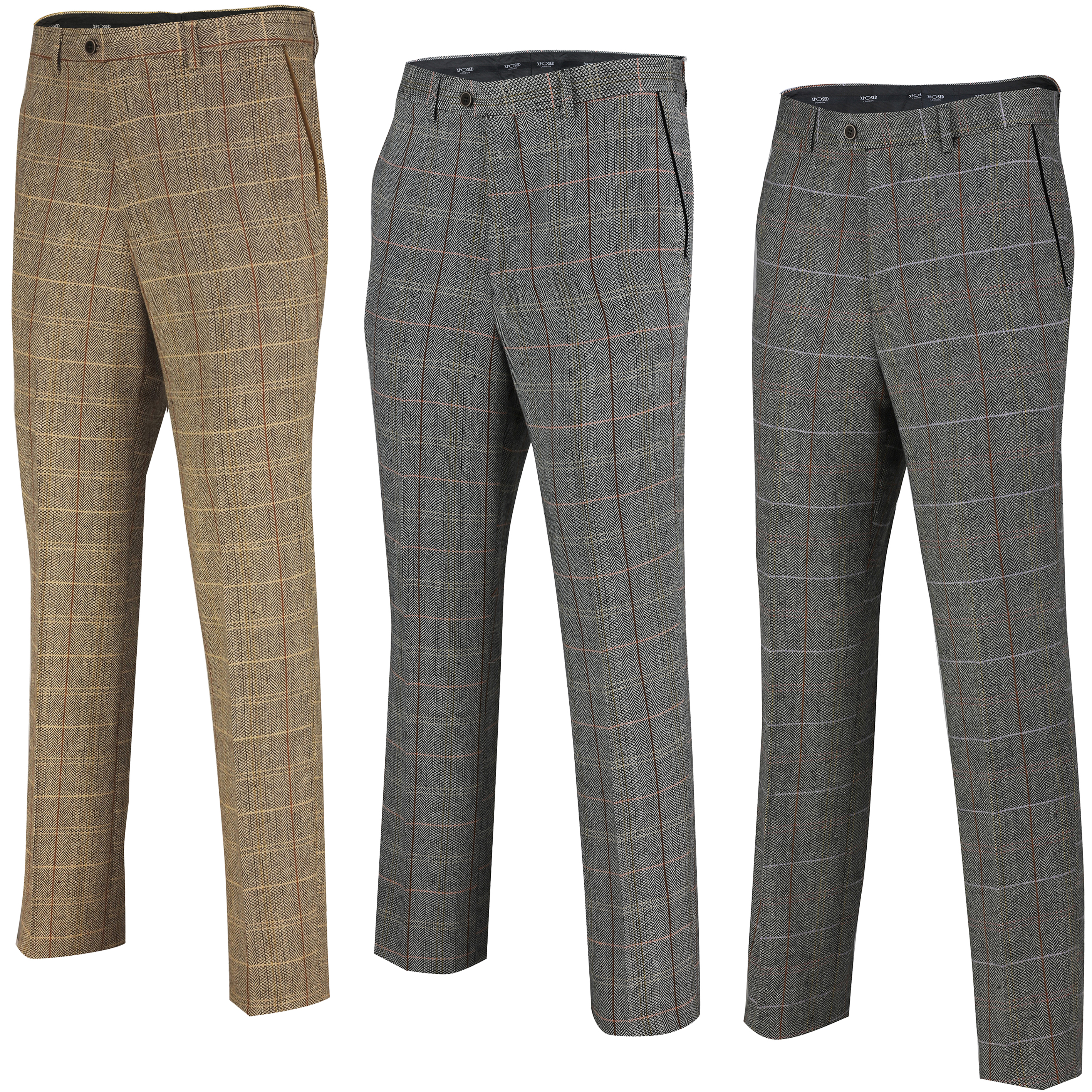 Formal Trousers (Checkered)