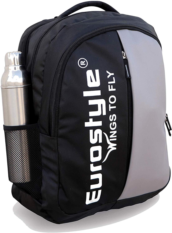 Black & Light Grey Backpack