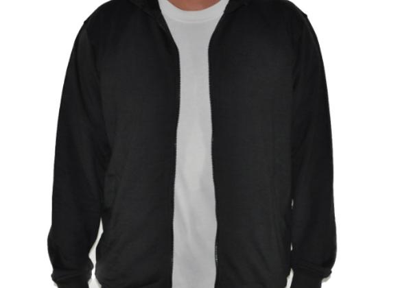 Confidante Black Hooded Winter Jacket