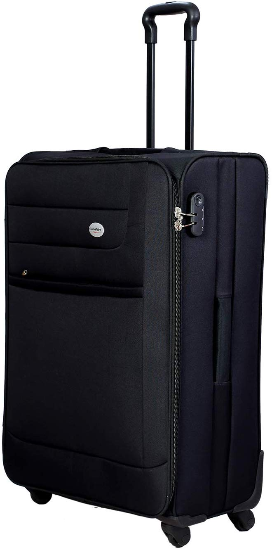 "Black Trolley Travel Bag (24"")"