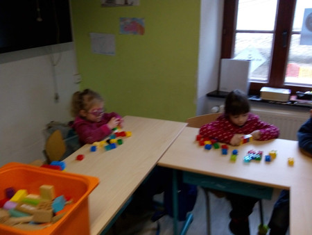 Un instit (primaire) à la maternelle