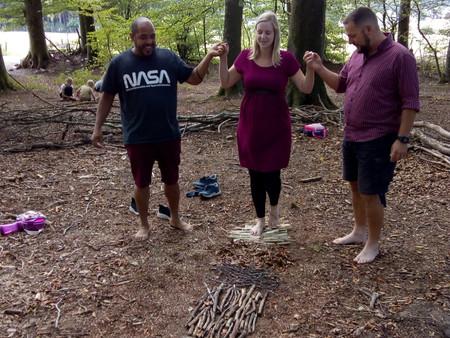 Mission bois - Parcours pieds nus