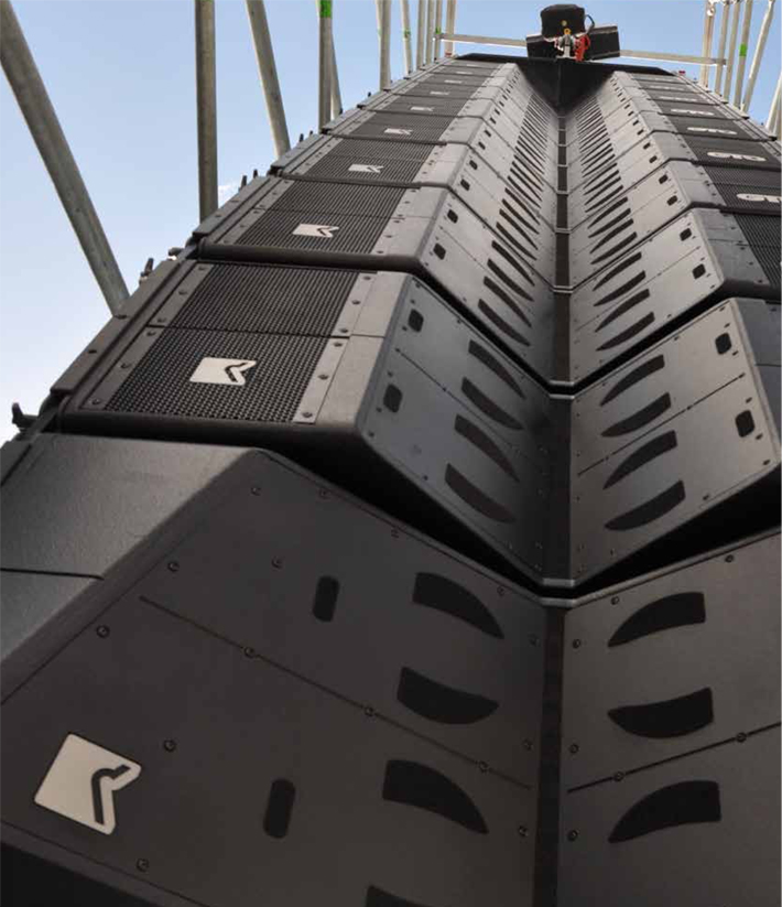 outline Audio Line Array