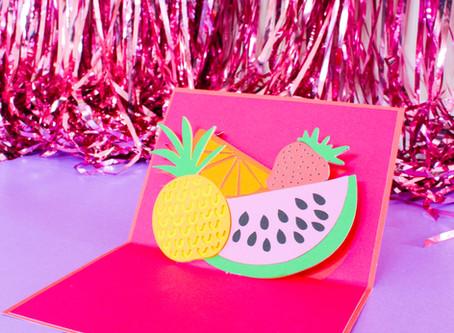 MAKE YOUR OWN POP-UP CARD | CRICUT