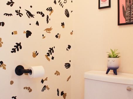 HOW TO CREATE A FEATURE WALL WITH CRICUT JOY