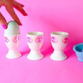 DIY SASSY EGG CUPS | CRICUT
