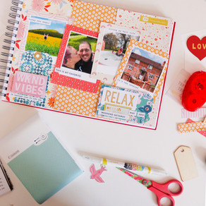 SCRAPBOOKING MY WEEKEND WITH THE CANON SELPHY SQUARE QX10