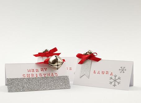 DIY Christmas Place Settings and Gift Tags
