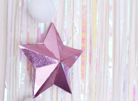 Day Two | DIY Pretty Little stars | 12 days of Christmas Crafts