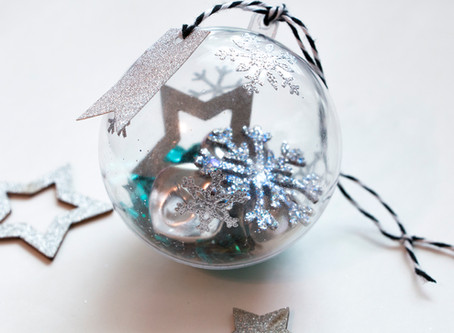 DIY Winter Wonderland Bauble