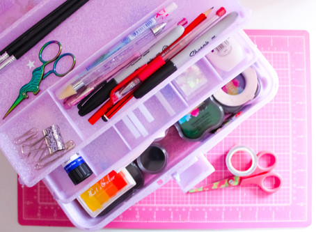 WHAT'S IN MY ON THE GO CRAFT CADDY?