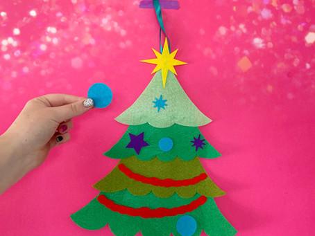 FELT CHRISTMAS TREE GAME | CRICUT