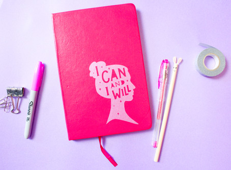 DIY NOTEBOOK USING SMART VINYL AND CRICUT JOY | CRICUT