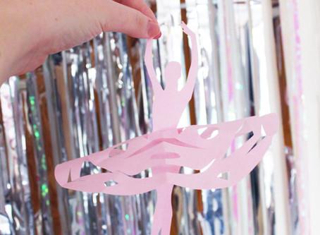 Day Three | DIY Snowflake Ballerina Babe | 12 days of Christmas crafts