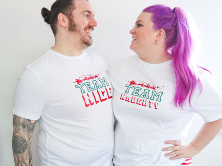 DIY COUPLE MATCHING PYJAMAS | CRICUT