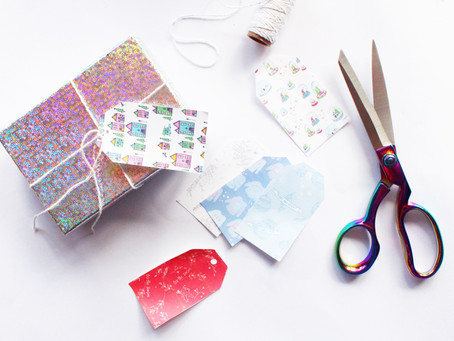 DIY Gorgeous Gift Tags | 12 days of Christmas crafts