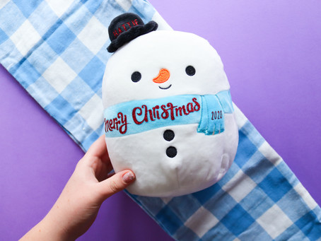 DIY PERSONALISED CHRISTMAS SOFT TOY GIFT
