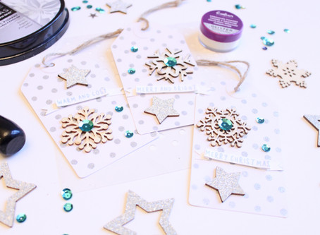 DIY Glittery Gift Tags
