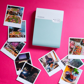 SCRAPBOOKING SUMMER WITH THE CANON SELPHY SQUARE QX10